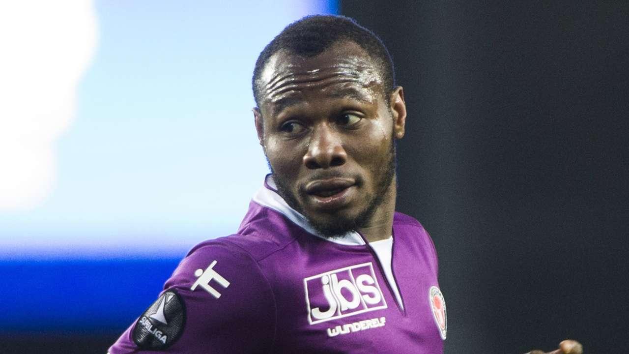 Sylvester Igboun of FC Midtjylland