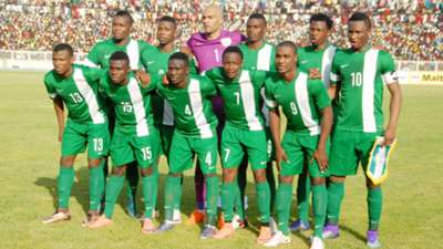 Nigeria line up Egypt 25032016