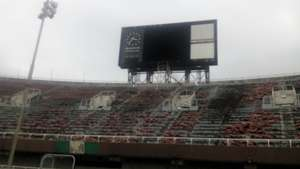 dilapidated National Stadium, Lagos