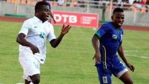Tanzania vs Nigeria - 05092015