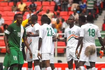 Nigeria vs Niger - 08092015