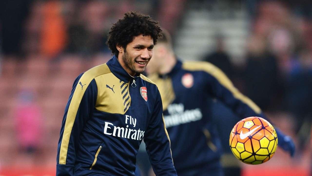 Mohamed Elneny of Arsenal