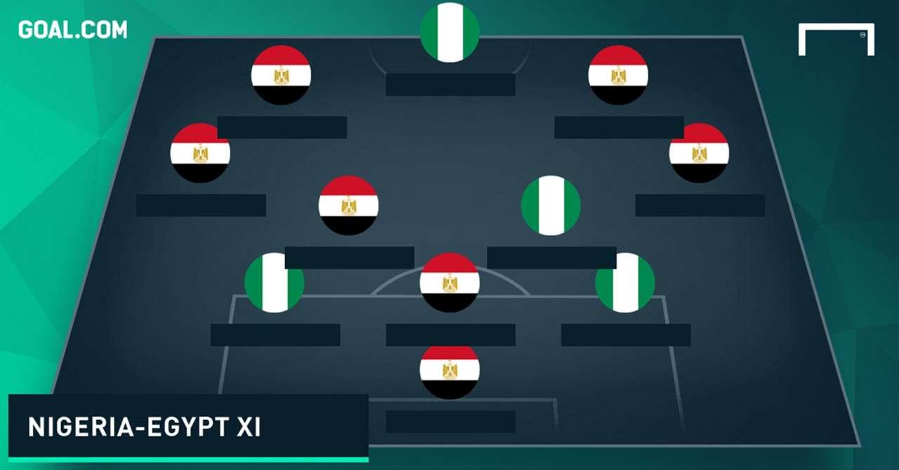 Combined Nigeria Egypt XI