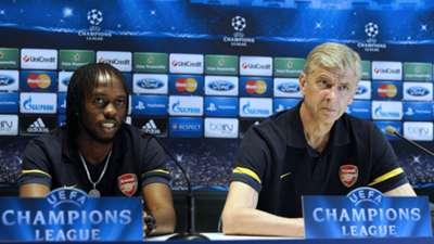Arsene Wenger, Gervinho, Arsenal