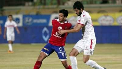 Ali Gabr of Zamalek & Amr Gamal of Al-Ahly