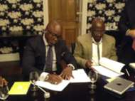 Amaju Pinnick signs contract with Nike