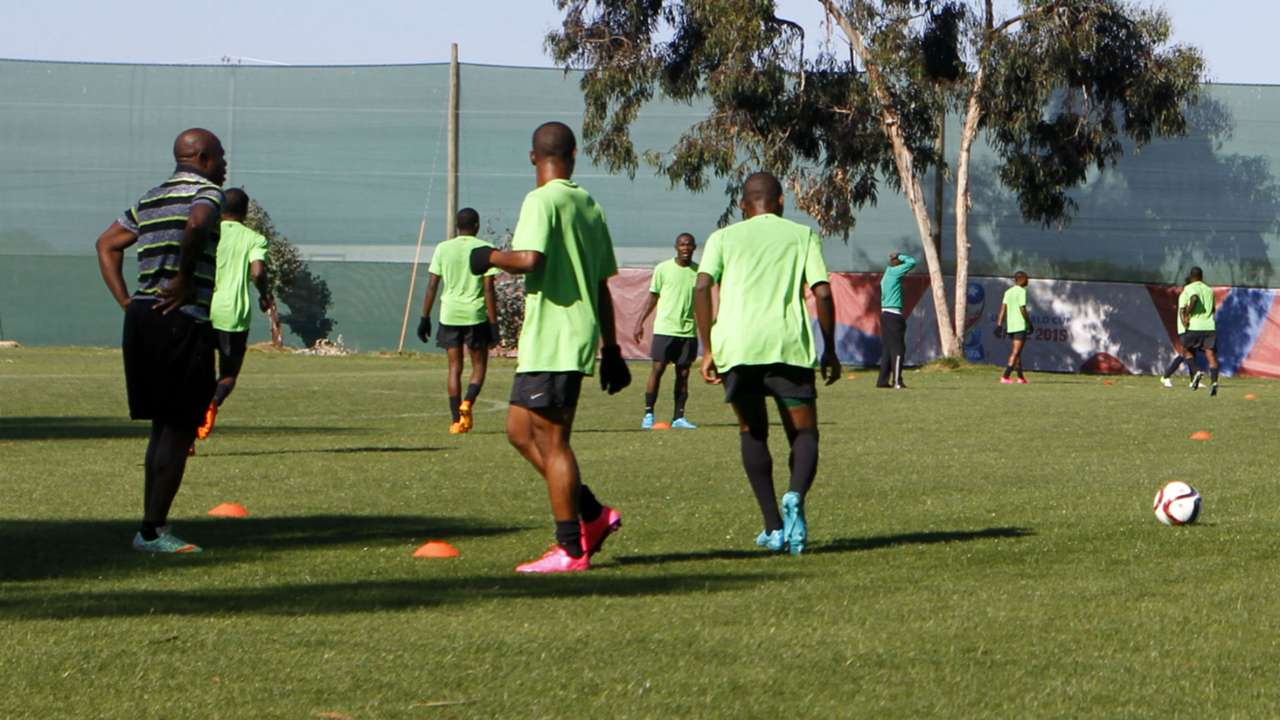 Nigeria U17 training