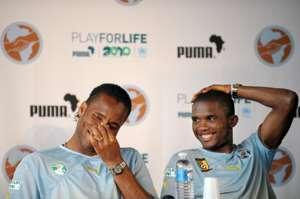 Didier Drogba Samuel Eto'o