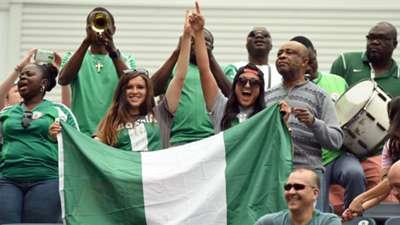 Nigeria fans in Winnipeg