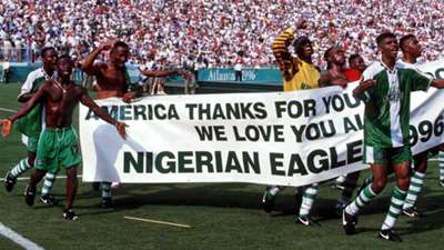 Nigeria at Atlanta 96