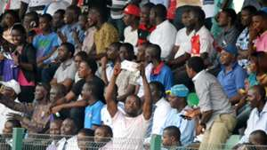 Fans at NPFL match between MFM and El Kanemi Warriors 1032016