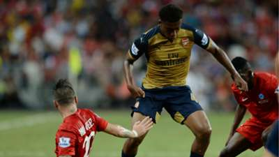 Alex Iwobi - Arsenal 15072015