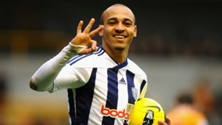 Peter Odemwingie West Bromwich Albion February 2012
