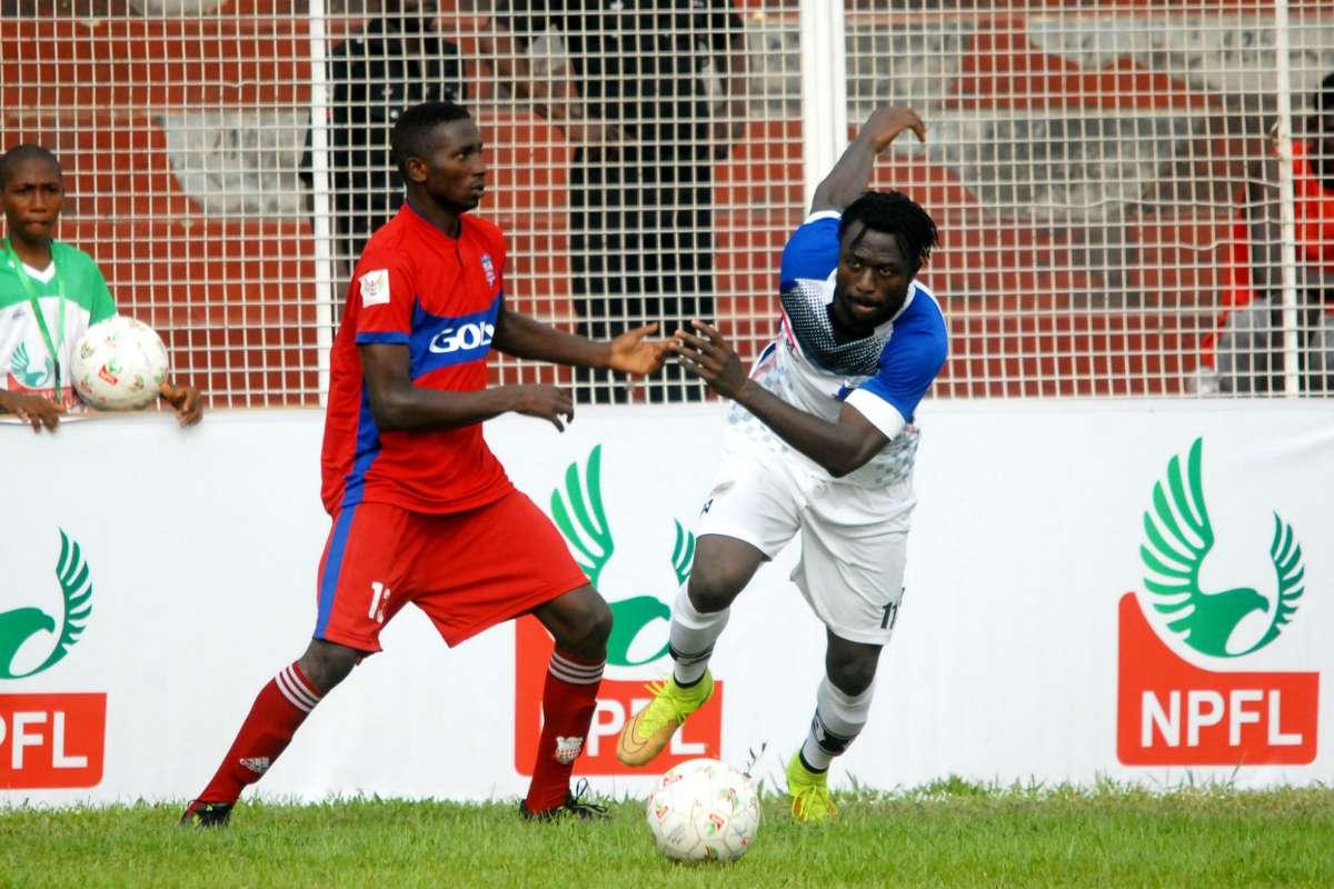 Image result for NPFL: Rangers humble Rivers United 1-0 in Enugu