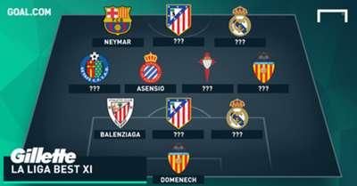 Gillette La Liga Best XI Week 8