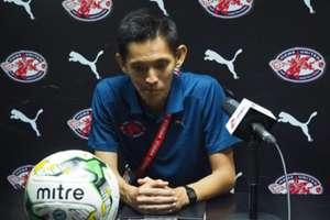 Home United head coach Philippe Aw