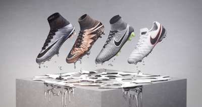 Nike Football Liquid Chrome Pack