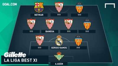 Gillette Best XI - La Liga Week 11