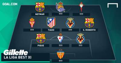 GFX Gillete Best XI - La Liga week 10