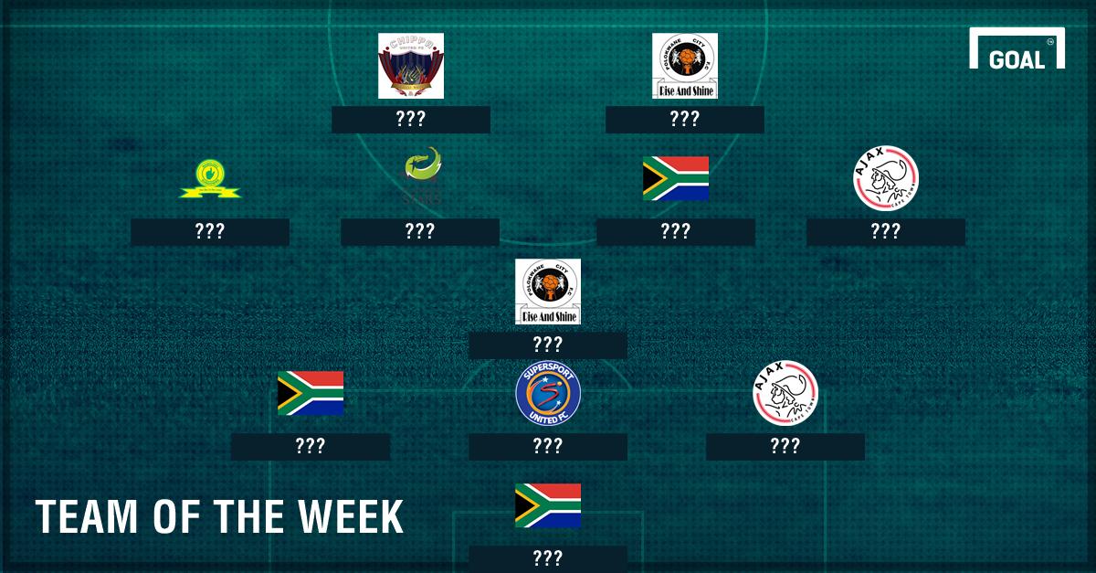 SA Team of the Week Dec 5