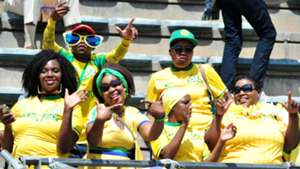 Sundowns fans vs Zamalek