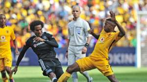 Issa Sarr of Pirates & William Twala