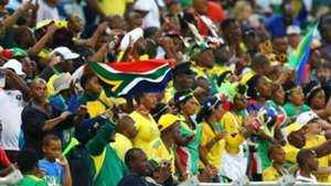 Bafana Bafana fans at the Moses Mabhida Stadium