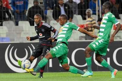 Thabo Rakhale - Latshene Phalane - Bloemfontein Celtic vs Orlando Pirates