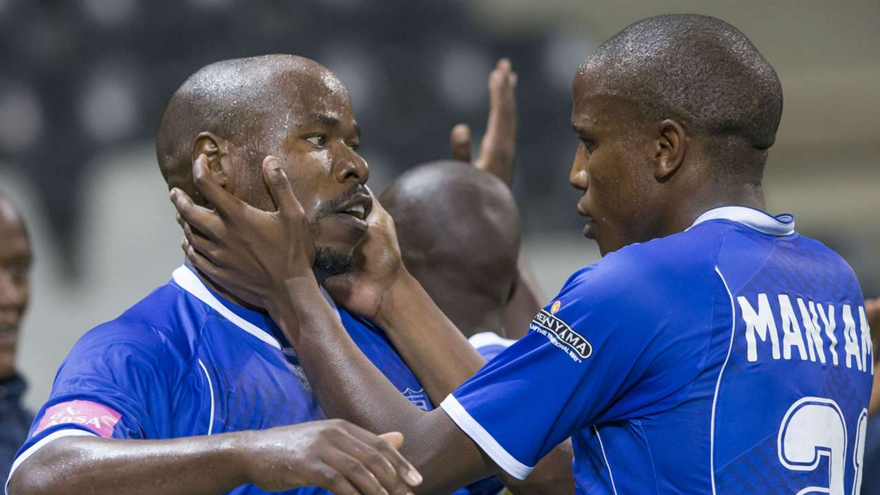 Collins Mbesuma and Lebogang Manyama -MP Black Aces