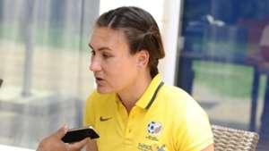 Roxanne Barker of Banyana Banyana