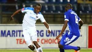 Mark Mayambela and Kwanda Mngonyama - Chippa United vs Maritzburg United