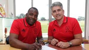 Ajax Cape Town head coach Stanley Menzo