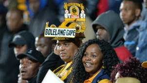 Kaizer Chiefs fans at the Bidvest Stadium