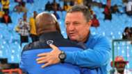 Pitso Mosimane and Gavin Hunt - Sundowns v Wits