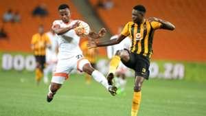 Thobani Mncwango and Erick Mathoho - Kaizer Chiefs v Polokwane City