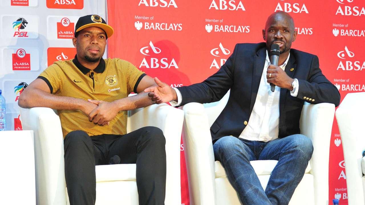 Itumeleng Khune and Steve Komphela - Kaizer Chiefs
