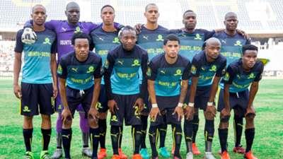 Mamelodi Sundowns starting XI