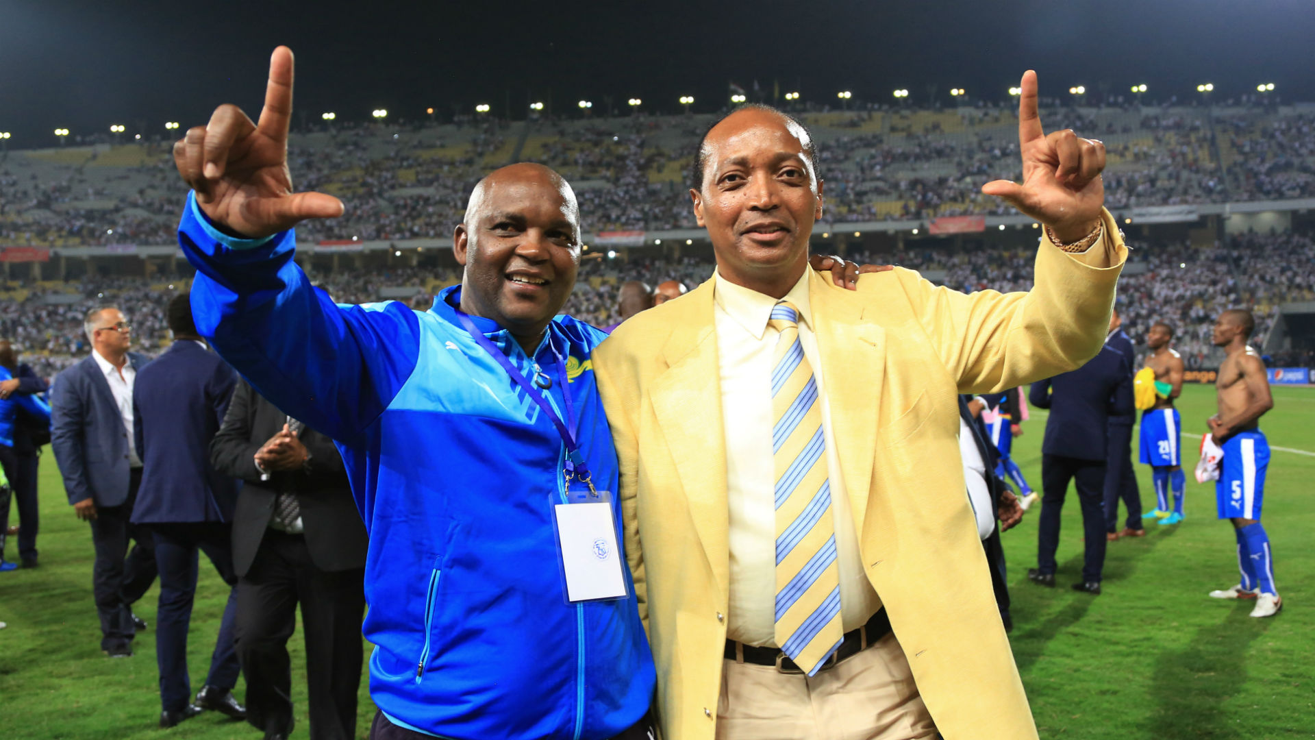 Motsepe approves Mosimane's departure from Mamelodi Sundowns