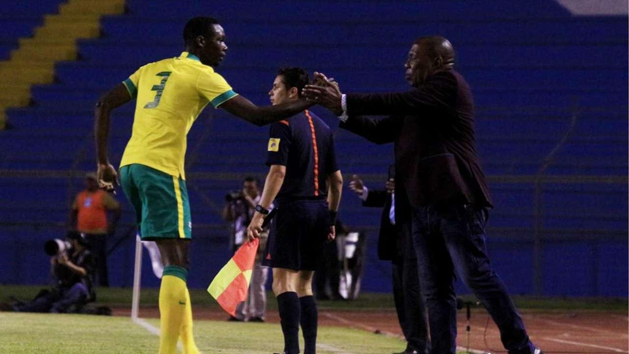 Eric Mathoho and Shakes Mashaba - Bafana Bafana