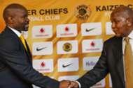 Steve Komphela and Kaizer Motaung - Kaizer Chiefs