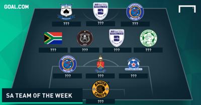 SA Team of the Week January