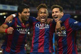 Neymar Messi Suarez.