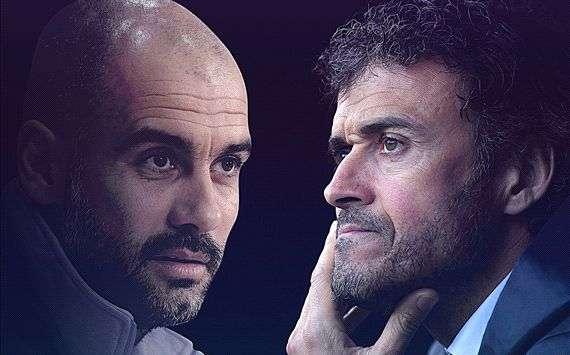 Pep Guardiola Luis Enrique Bayern Munich Barcelona Champions League