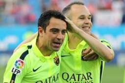 Xavi Hernande & Andres Iniesta