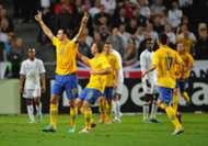 Zlatan Ibrahimovic Sweden -England