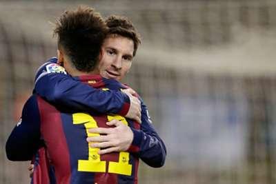 Neymar - Lionel Messi - Barcelona