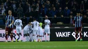 Besiktas goal celebration vs Trabzonspor