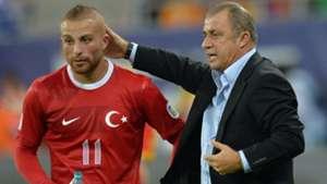 Gokhan Tore and Fatih Terim