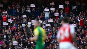Arsenal fans EPL 04302016