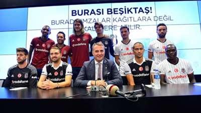 Besiktas transfers 2016-17